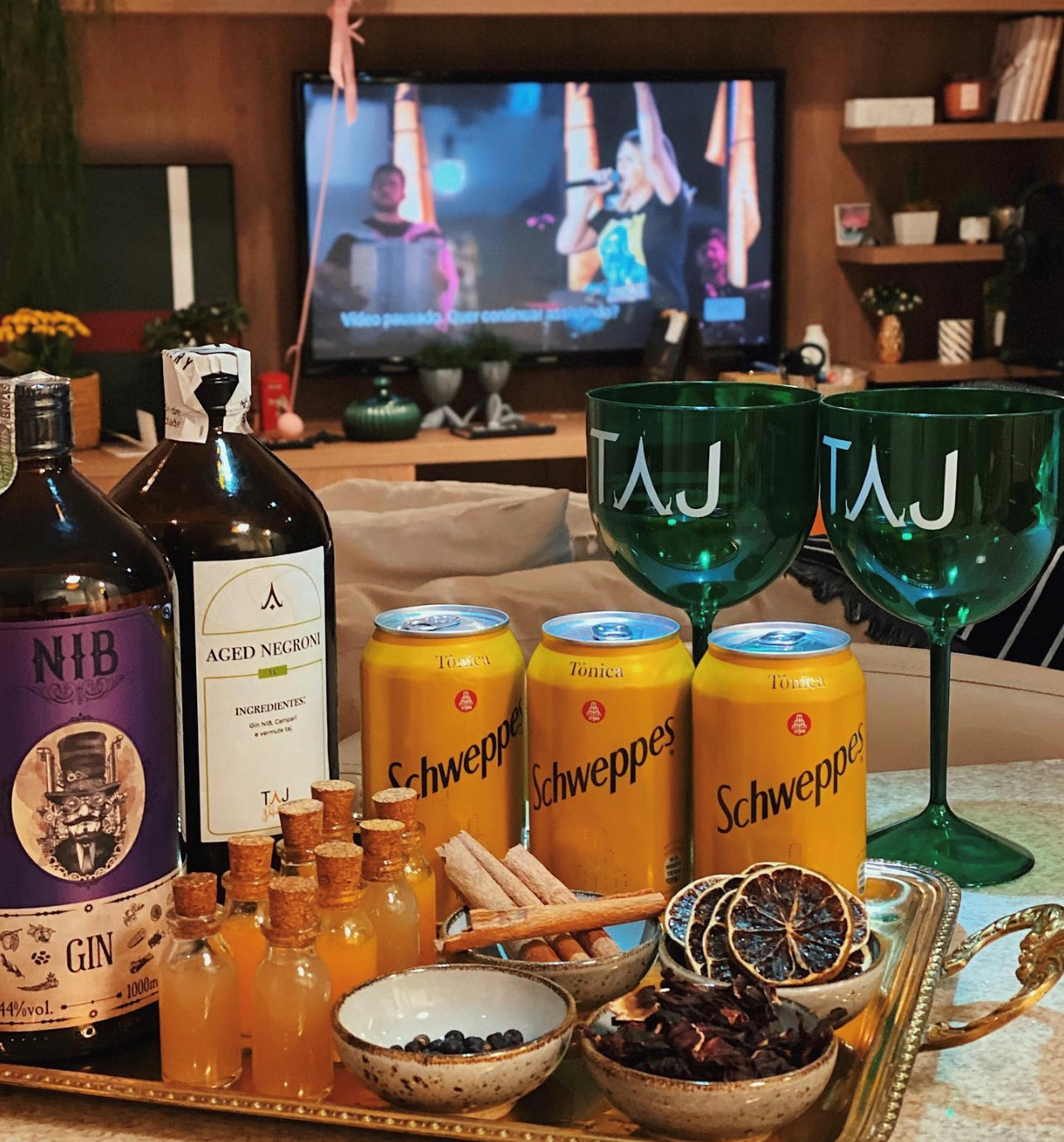 Drinks Taj Curitiba