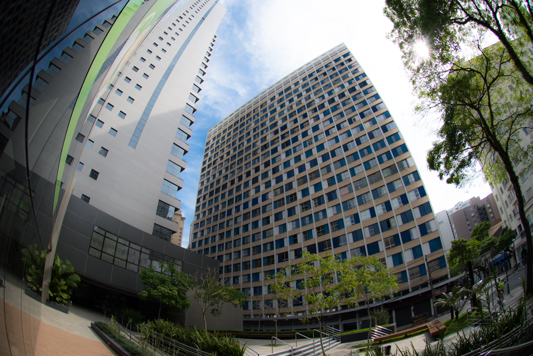Vista do Edifício Paraná. Foto: Circulando por Curitiba/Reprodução