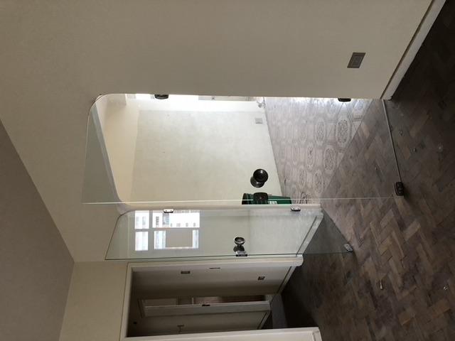 O apartamento em foto na etapa de levantamento. Foto: Estúdio A/R.