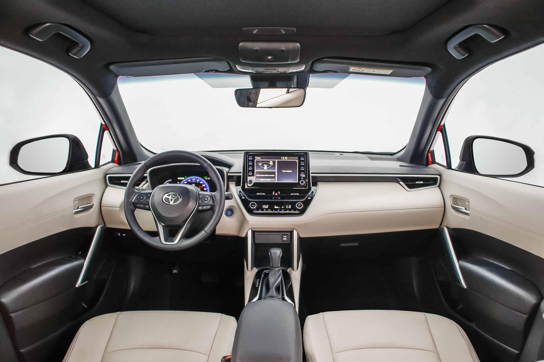 Interior do novo Toyota Corolla Cross