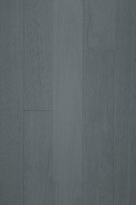 Piso em madeira tauari Concrete, da linha The Future, por Akafloor.