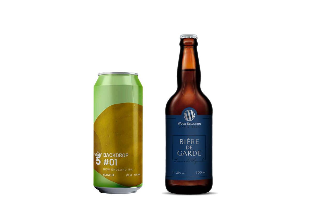 Backdrop #01 e Bière de Garde são os destaques da Beer News de março. Foto: Divulgação