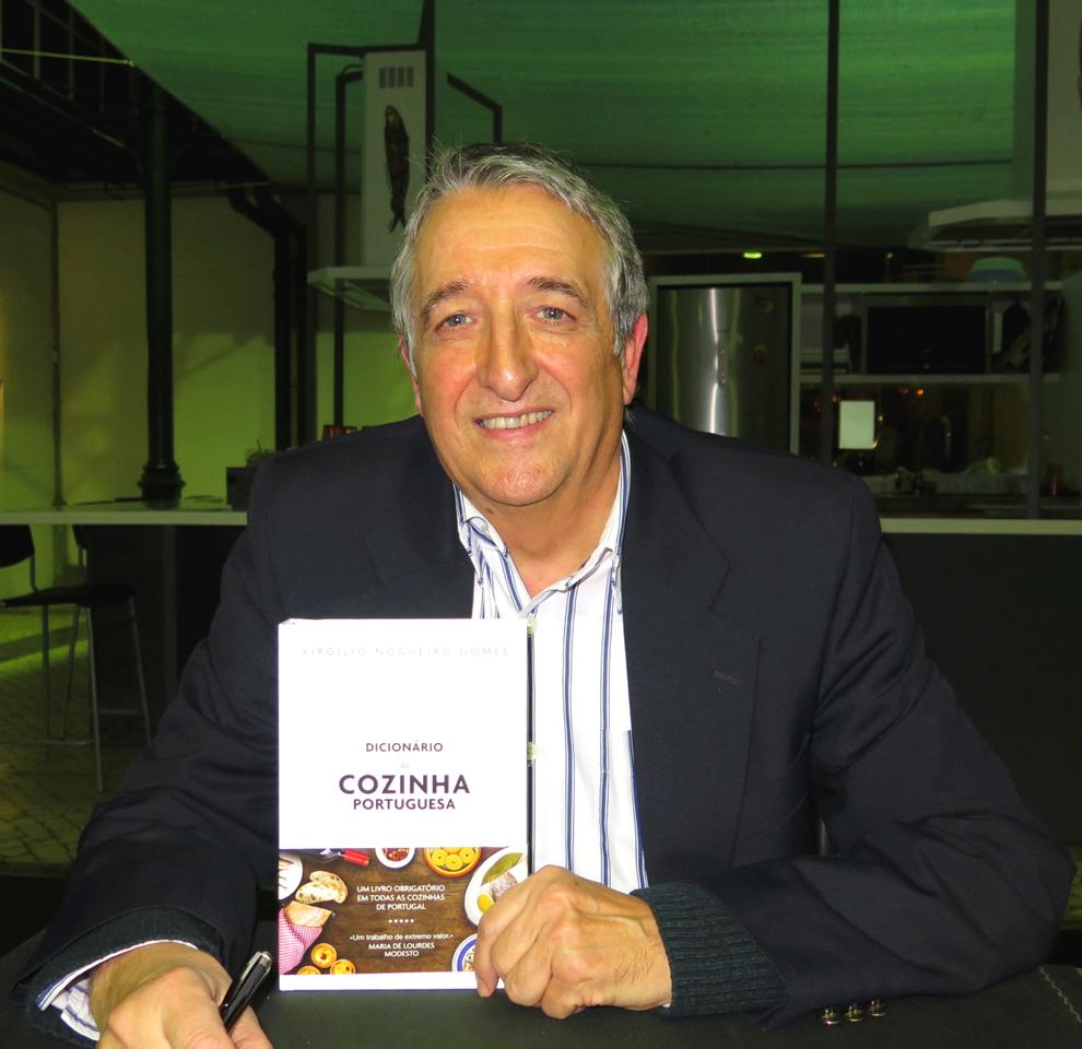 Virgílio Gomes é exímio conhecedor da gastronomia portuguesa. Foto: Divulgação