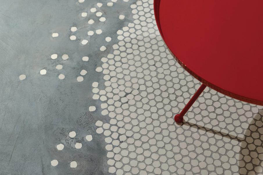 Lançamento da Portobello, coleção Bonbon tem formas irregulares que lembram docinhos.