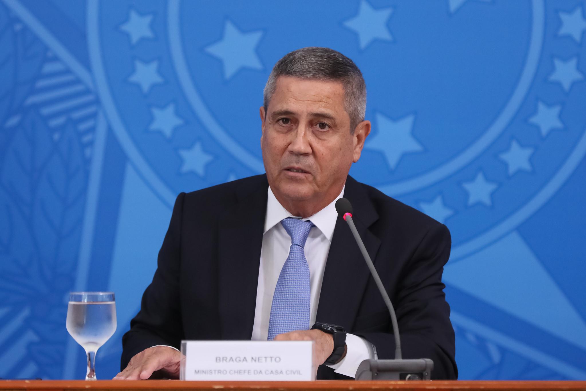 Ministro-chefe da Casa Civil, Walter Braga Netto