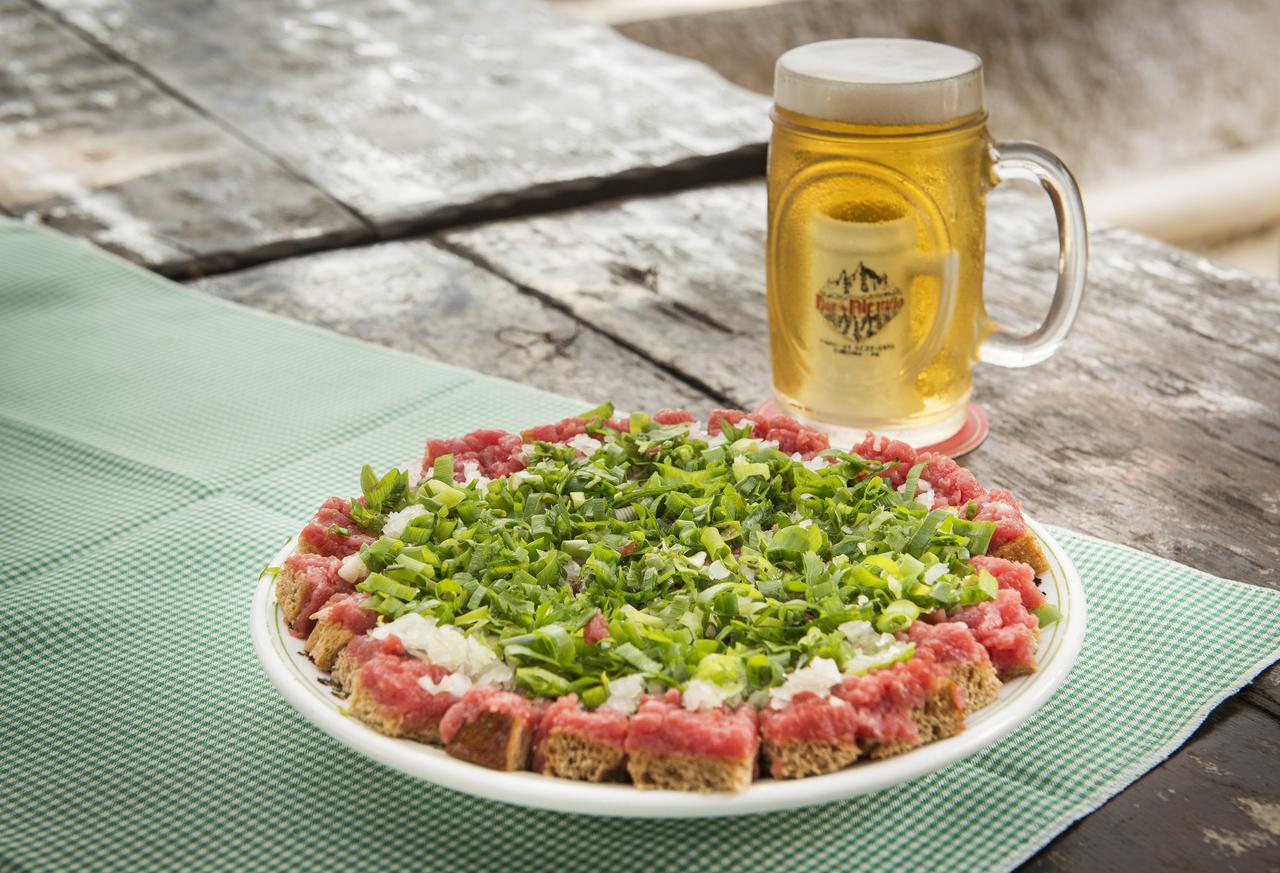 Carne de onça do Bar do Alemão. Foto: Letícia Akemi
