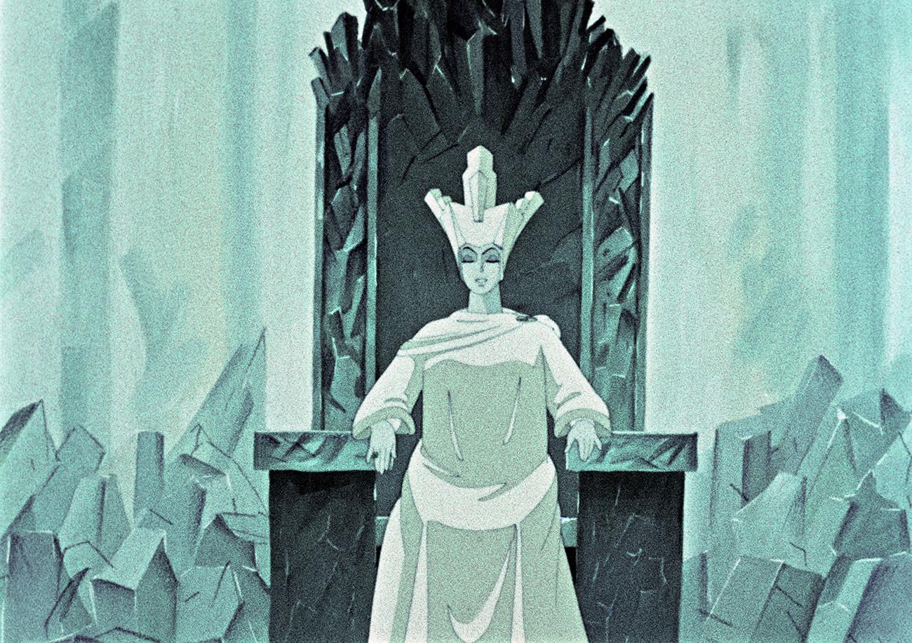 """""""A Rainha da Neve"""", de 1957, é uma das animações de maior sucesso da história da URSS e representa um dos pontos altos de uma indústria feita para bater de frente com a Disney"""