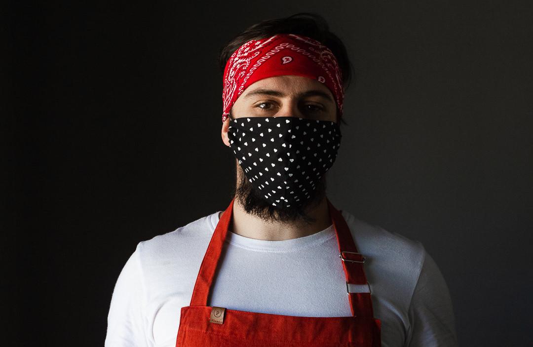 Chef André Pionteke, em tempos de pandemia.
