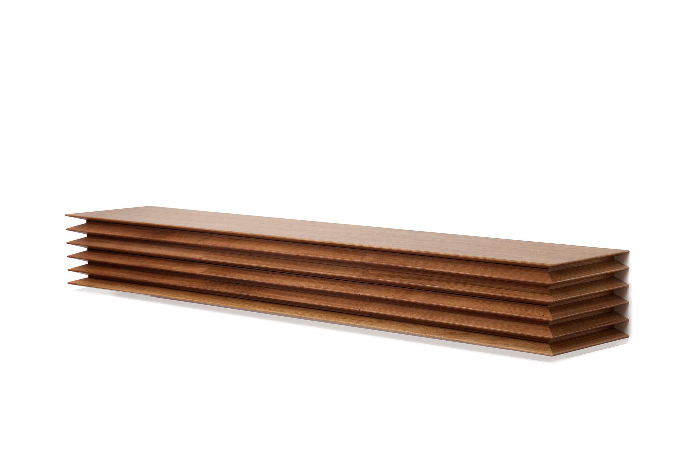Horizon Sideboard, da Etel, por Azul Arquitetura e Design