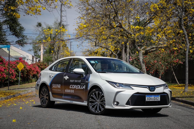 Corolla Hybrid, carro híbrido mais vendido no Brasil