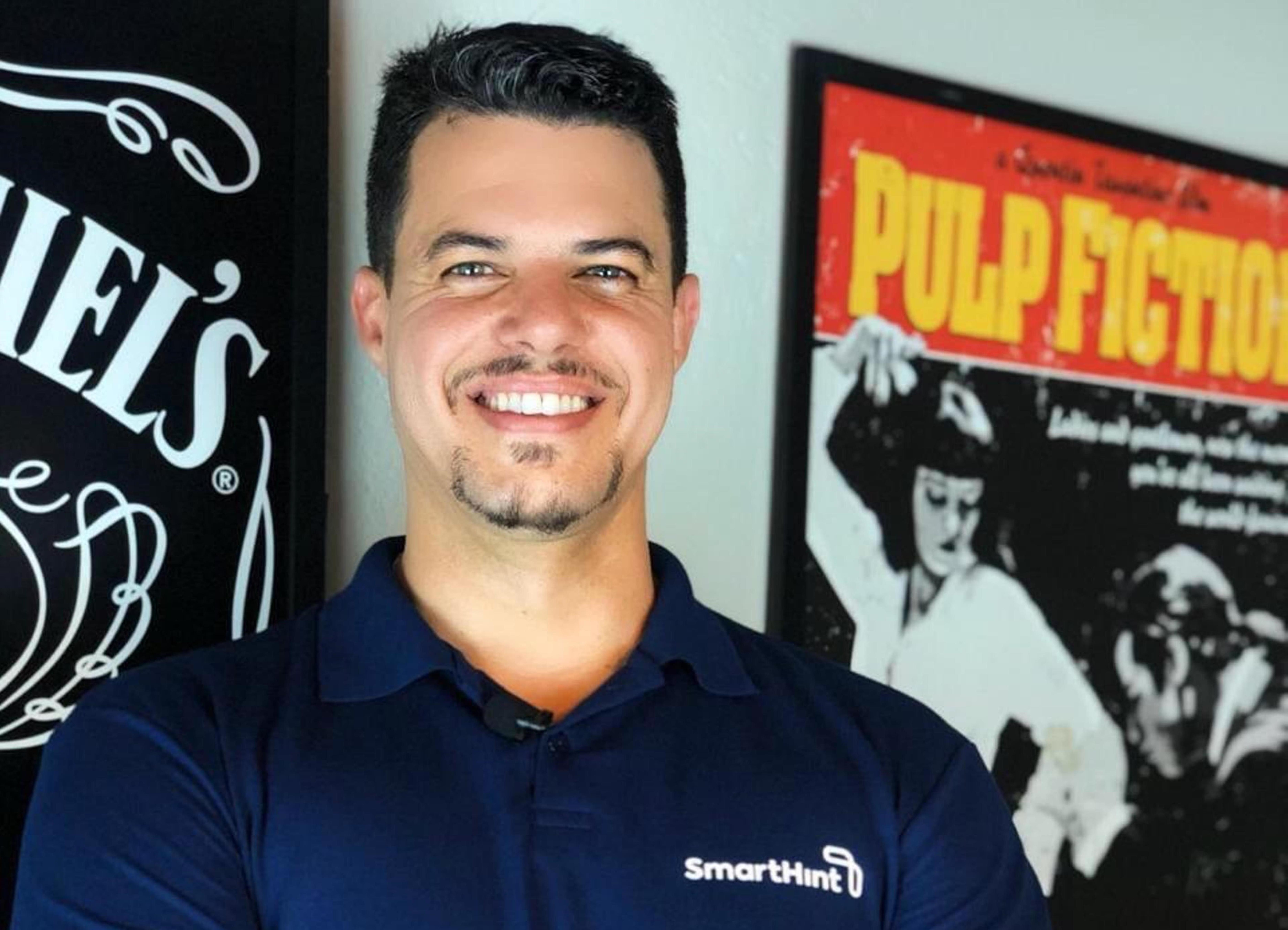 Rodrigo Schiavini é o CEO da SmartHint. Foto: divulgação.