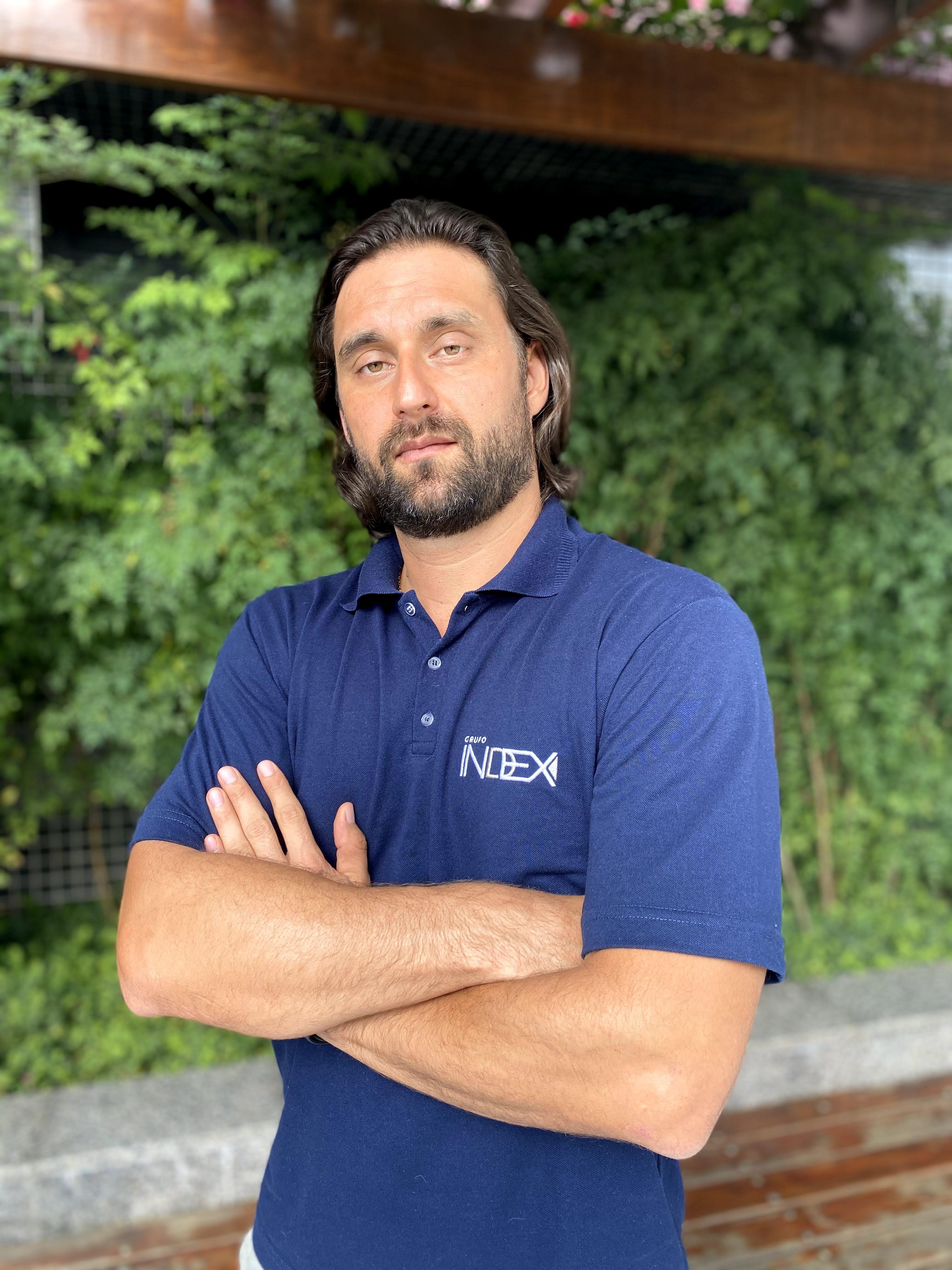 Rodrigo de Almeida é sócio-diretor do Grupo Index. Foto: divulgação.