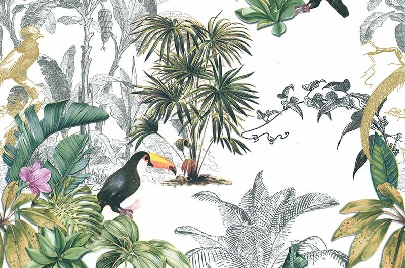 Temática tropical da Sejour e Chambres, na JVN e StilHaus.