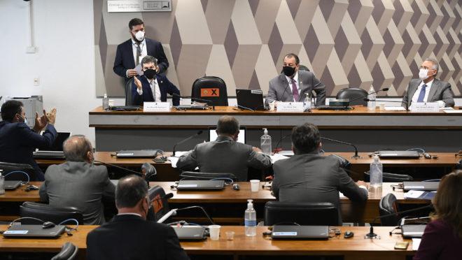 Reunião da CPI da Covid em 29/04/2021