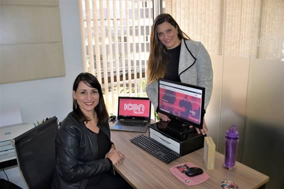 <em>Janaina Lima e Christina Curcio, sócias da Icon Talent</em>.