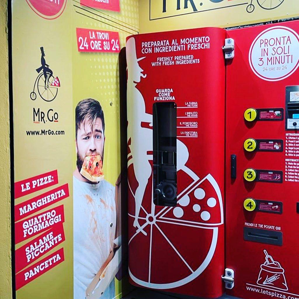 Pizza distribuidor