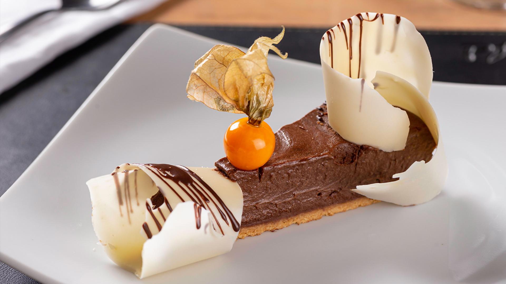 A Torta Mousse é um dos destaques do menu de sobremesas do Pimenta Brasserie.
