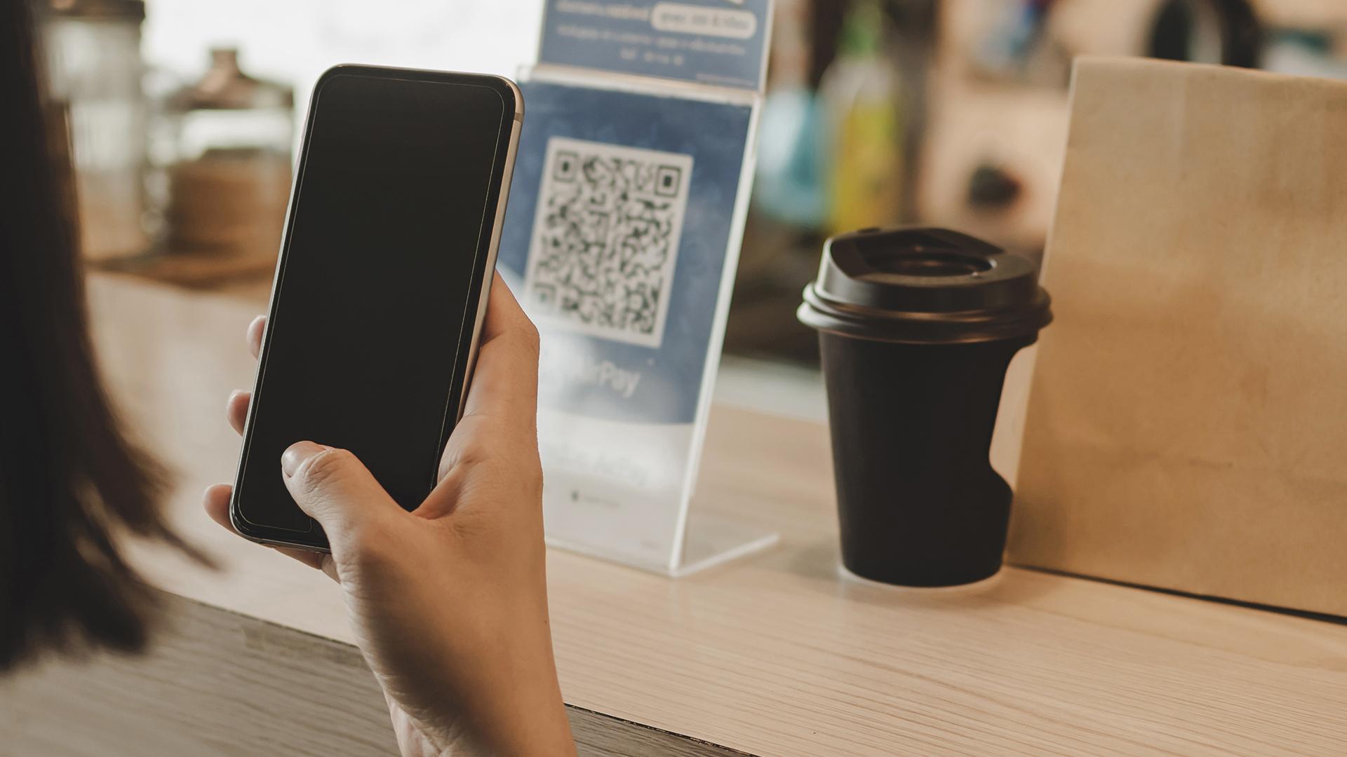 O seu cliente pode consultar o cardápio virtual via QR code.