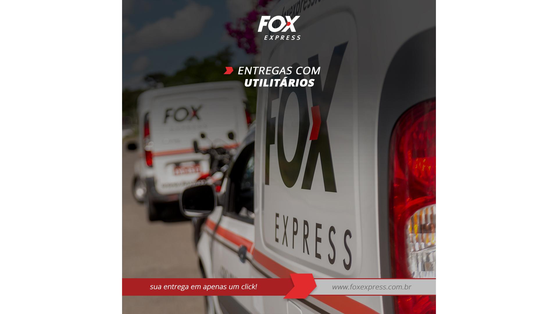 Os utilitários são usados para transportar cargas maiores, de acordo com a necessidade do cliente.