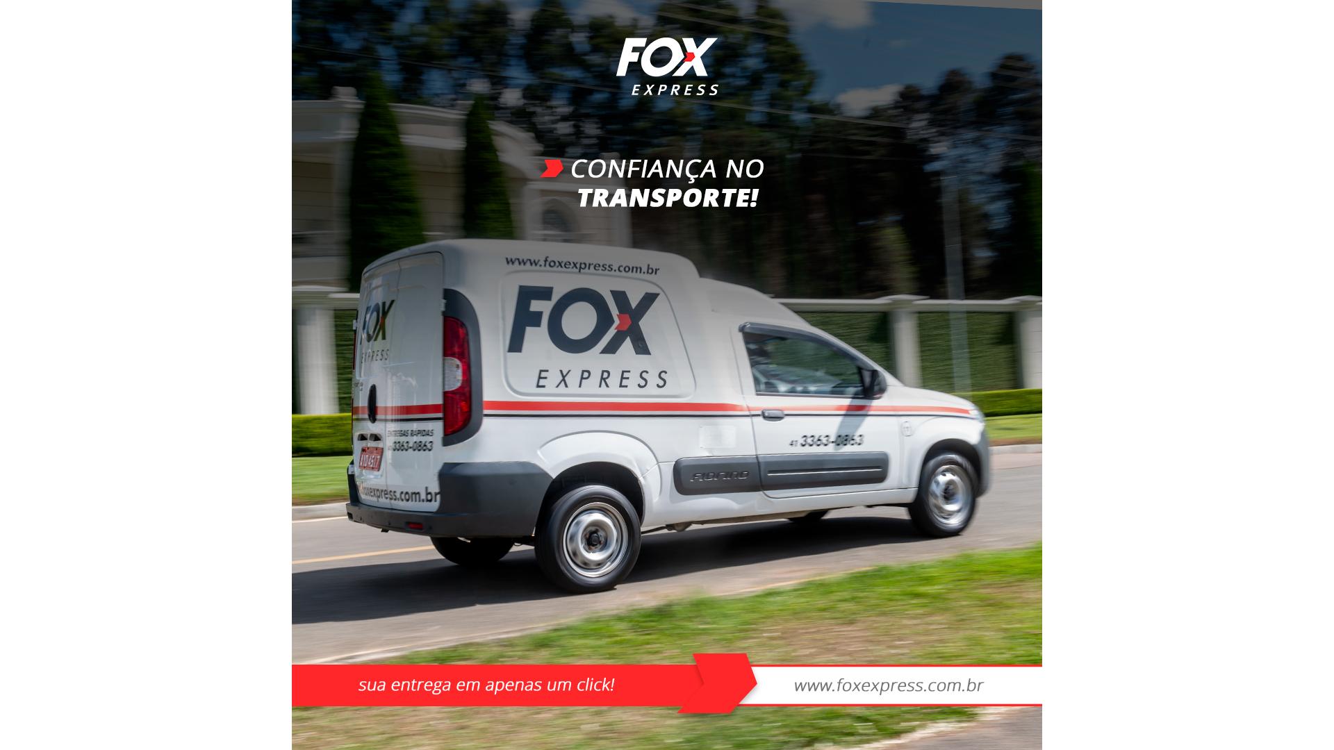 A Fox Express possui frota de motos e utilitários, para atender qualquer necessidade do cliente.