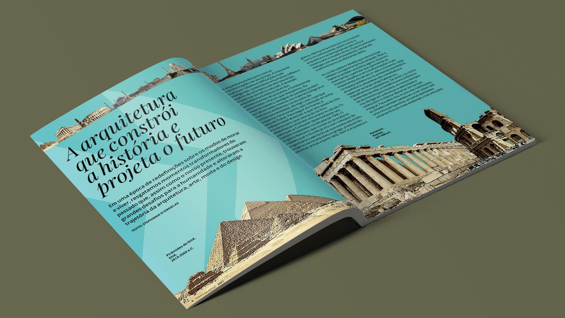 Ebook apresenta análise de momentos históricos da arquitetura, da Grécia Antiga até a atualidade, incluindo apostas de Carlo Ratti para o futuro das cidades.