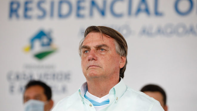 Bolsonaro presta solidariedade à família de Bruno Covas