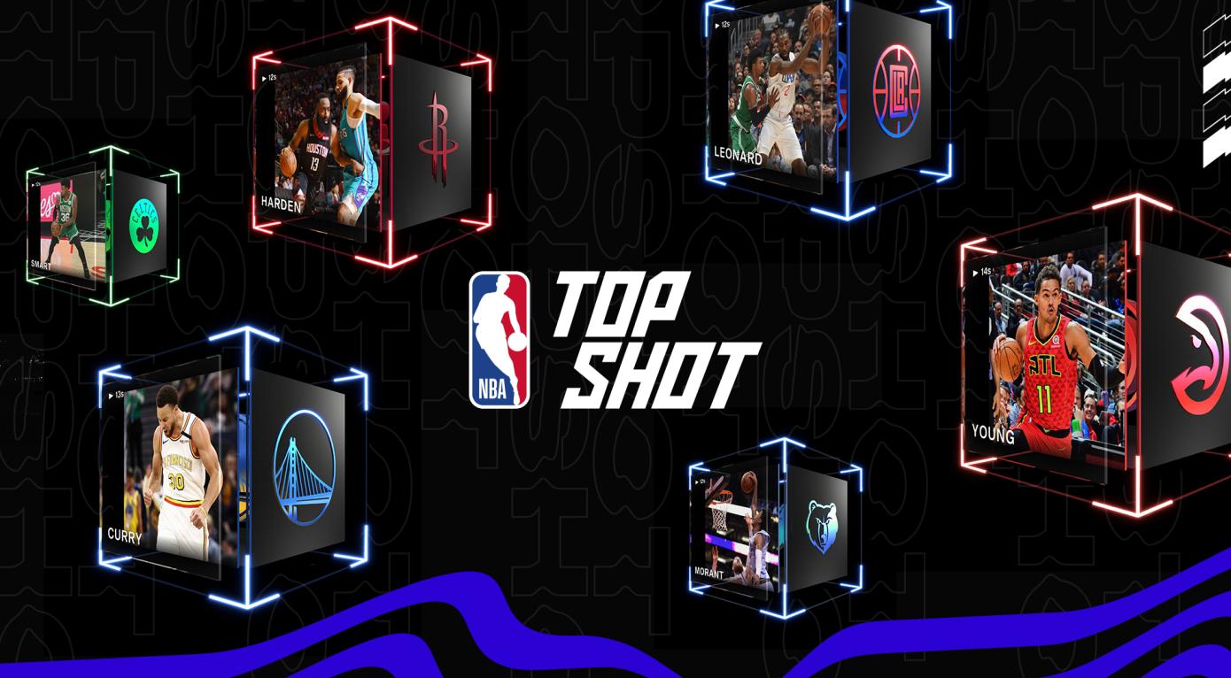 NBA Top Shots: venda de NFTs de vídeos de partidas da liga americana de basquete