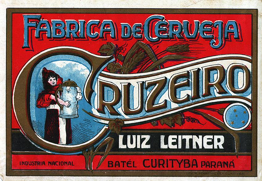 Cervejaria Cruzeiro foi fundada em torno de 1870, em Curitiba.