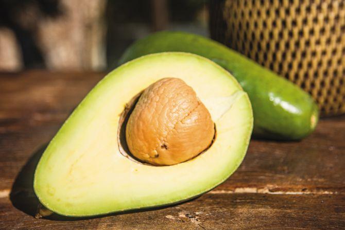 Ingrediente usado na receita do Chef Giuliano – abacate.