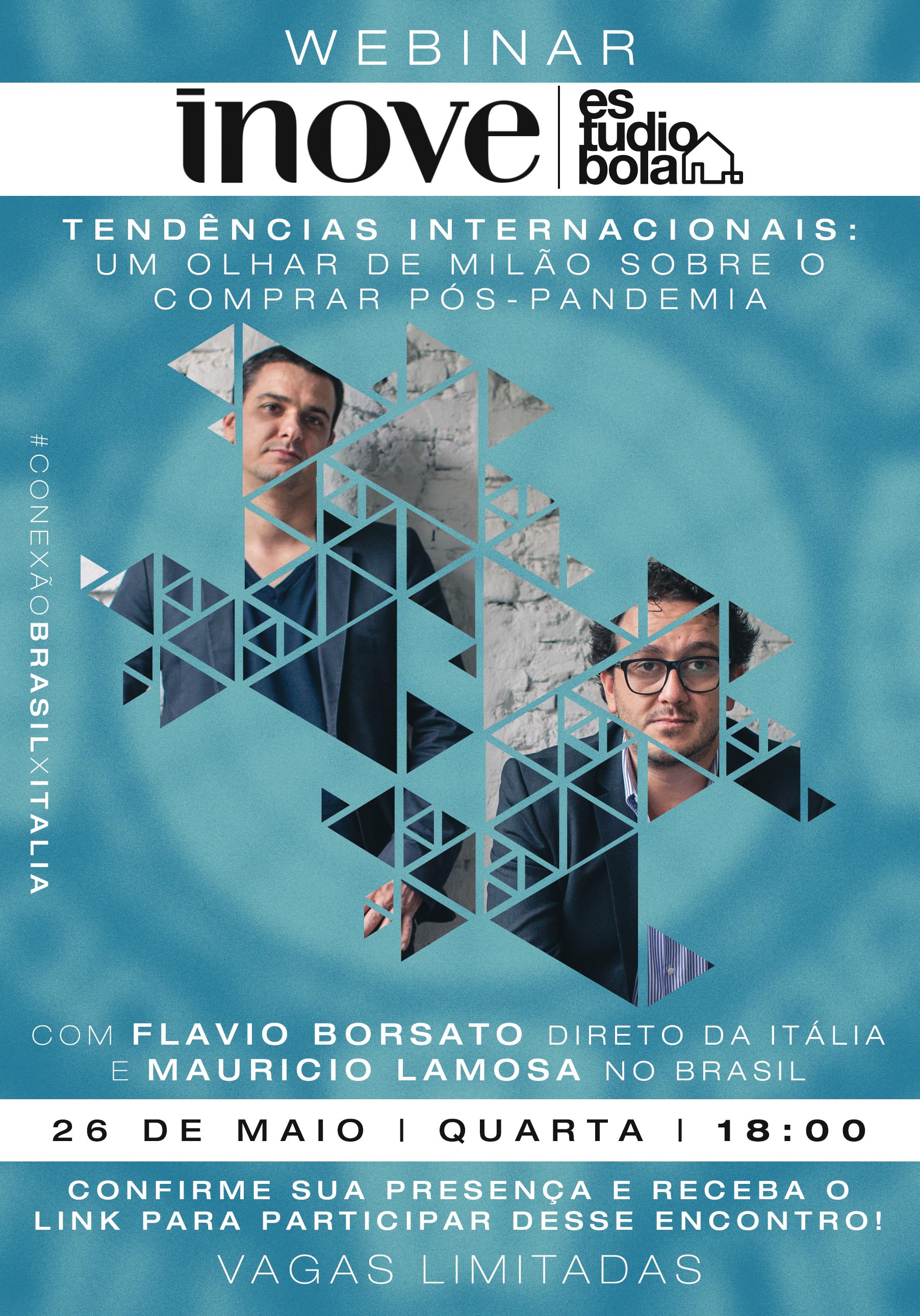 Bate-papo da Inove Design traz fundadores do Estudiobola para evento exclusivo.