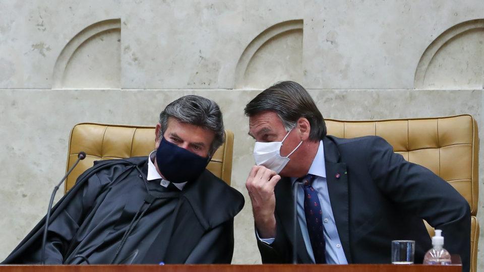 Presidente do STF, Luiz Fux, disse a Bolsonaro que a Corte não deve mudar entendimento sobre autonomia conferida a prefeitos e governadores