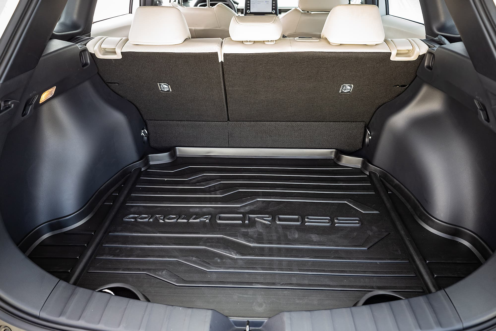 Porta-malas do Toyota Corolla Cross