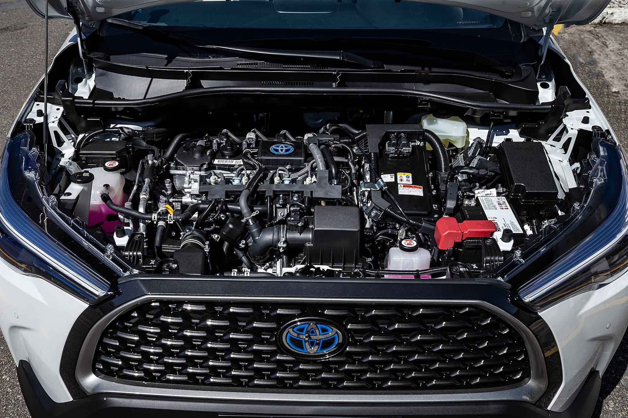 Motor térmico do Corolla Cross