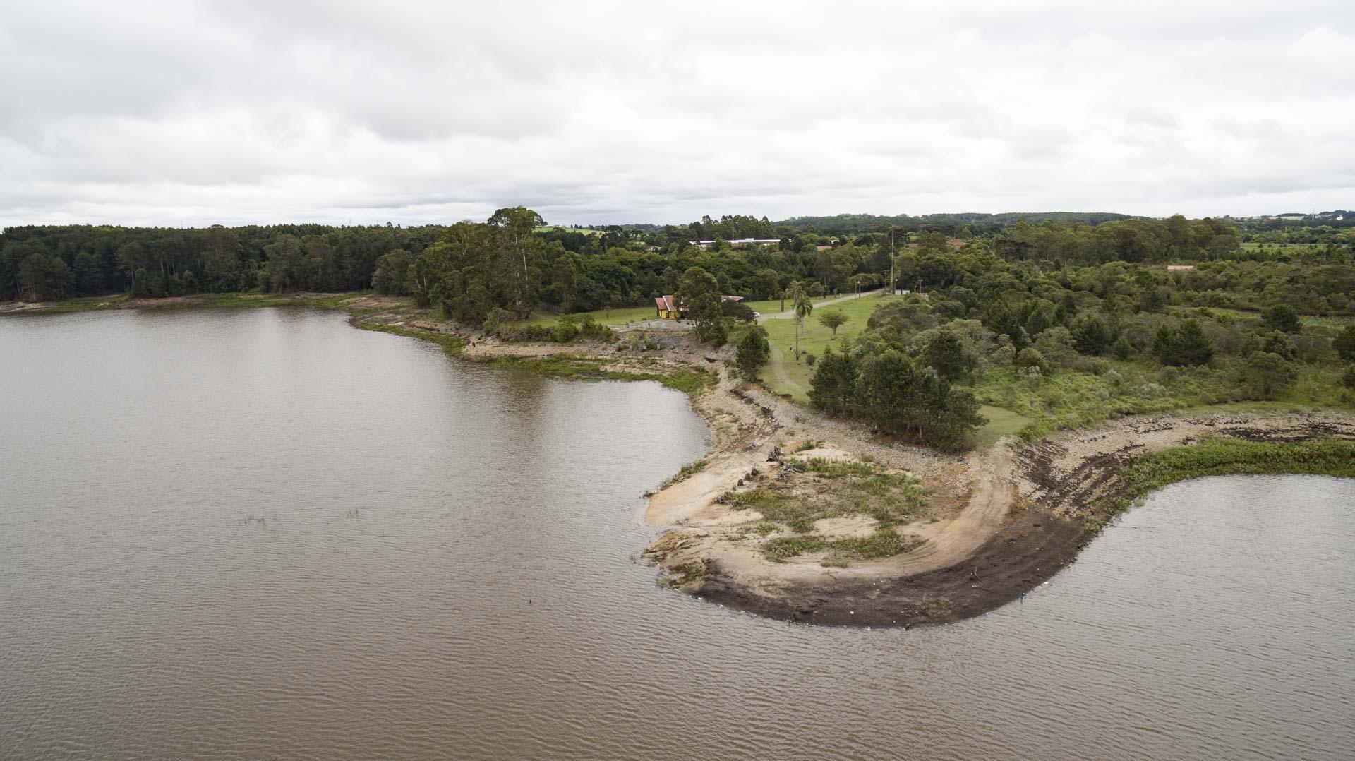 Barragem do Iraí é um dos mananciais de abastecimento de Curitiba e Região Metropolitana.
