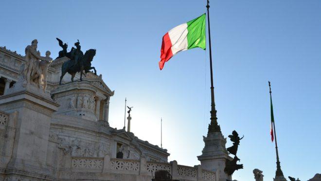 Monumento a Vítor Emanuel II em Roma.