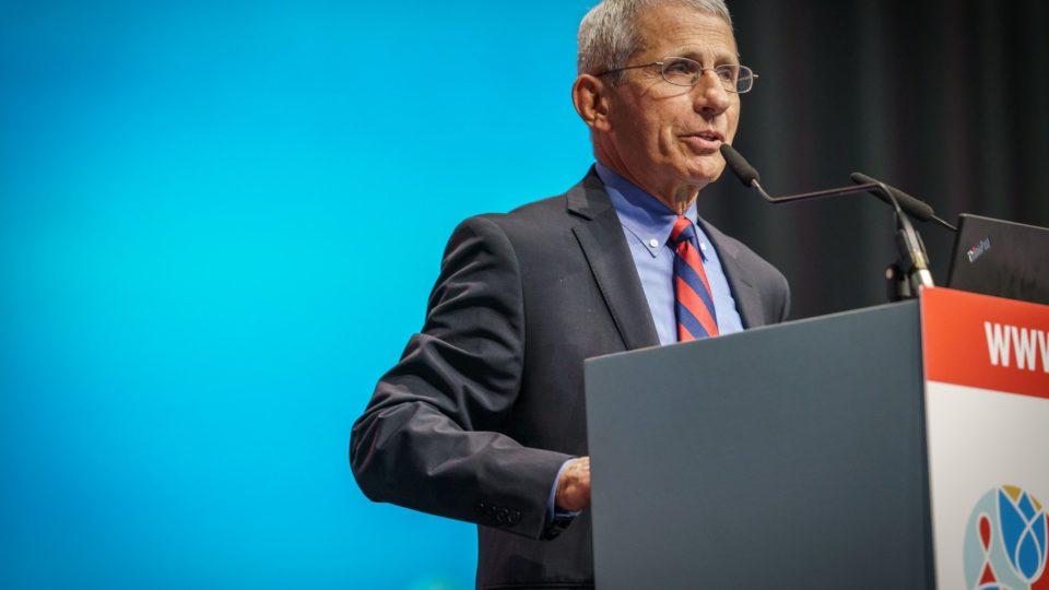 O infectologista Anthony Fauci, conselheiro da Casa Branca