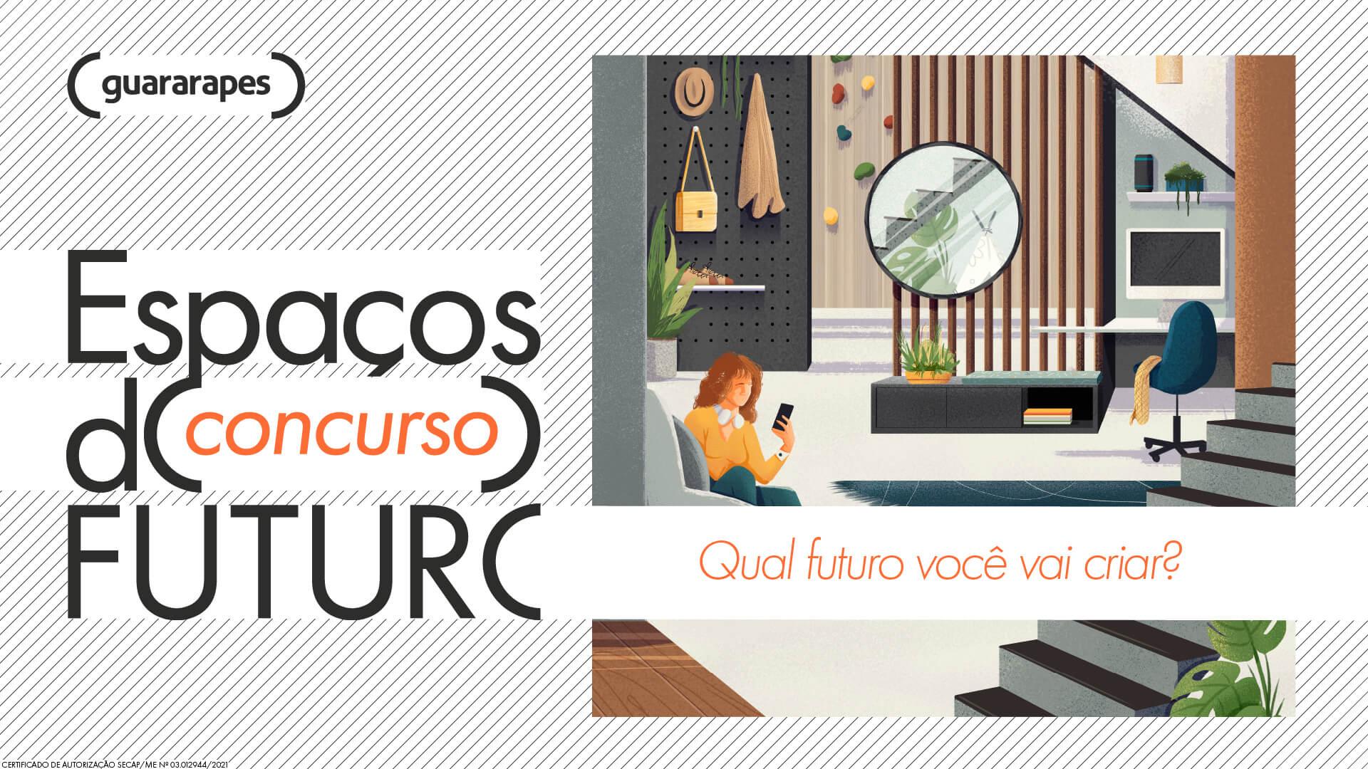 Concurso da Guararapes convida arquitetos, designers e marceneiros para pensar a casa do futuro.