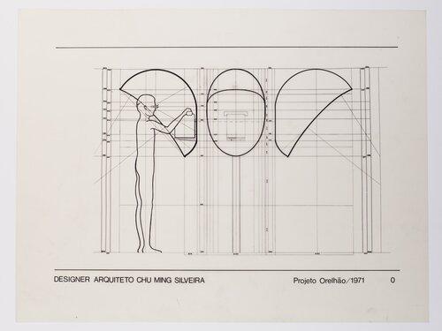 Projeto do orelhão, por Chu Ming Silveira.