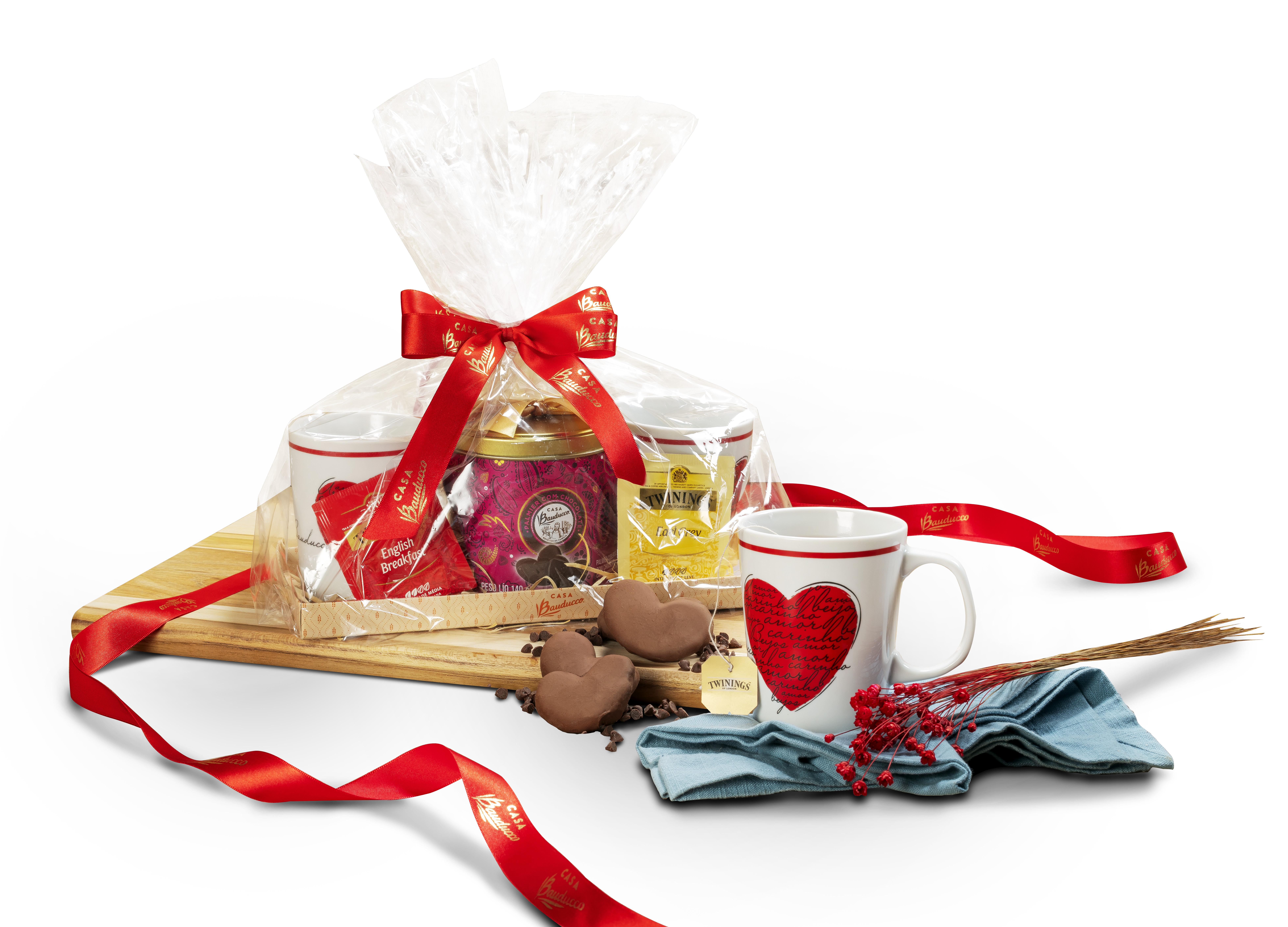 Dia dos Namorados kit Bauducco