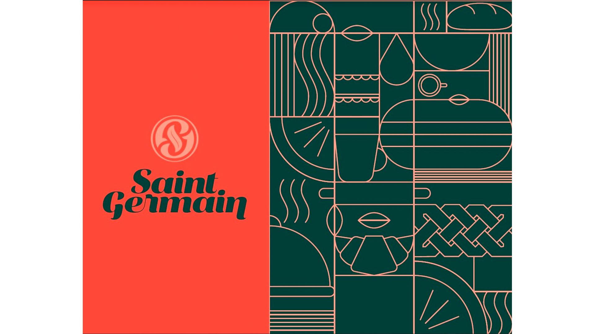 Saint Germain renova identidade de marca com nova logo e ícones.