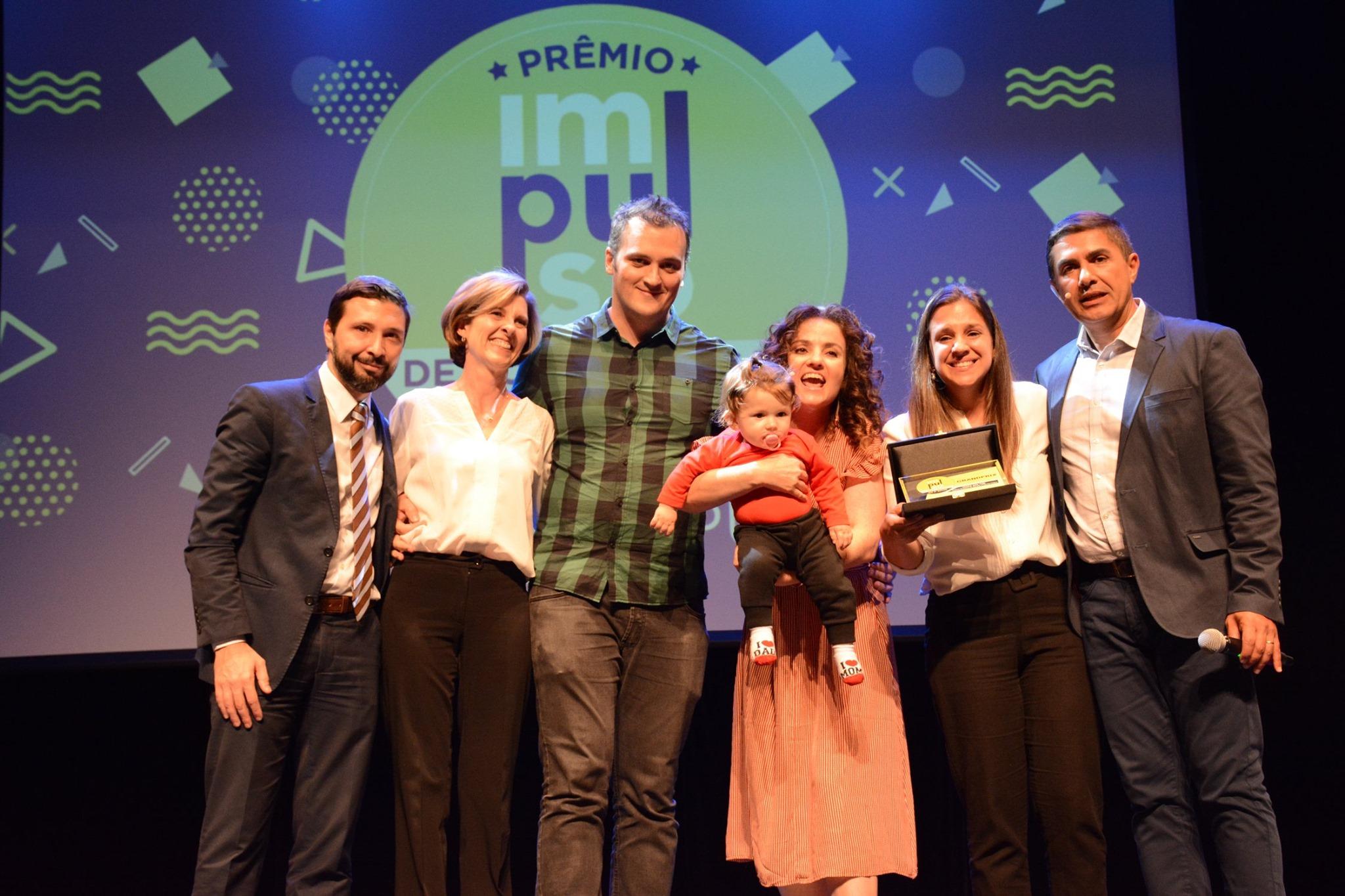 Evento de premiação Programa Impulso, 2019.