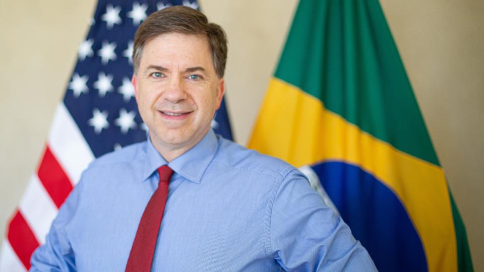 O embaixador dos Estados Unidos no Brasil, Todd Chapman