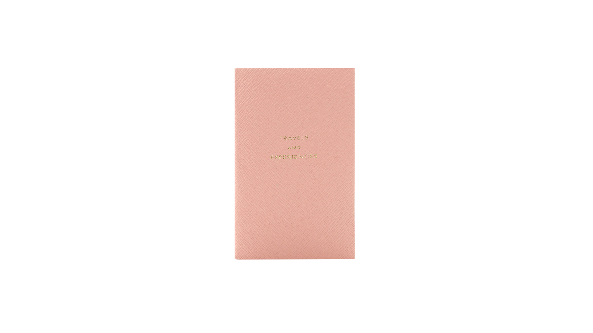 CADERNO TRAVEL AND EXPERIENCE SMYTHSON