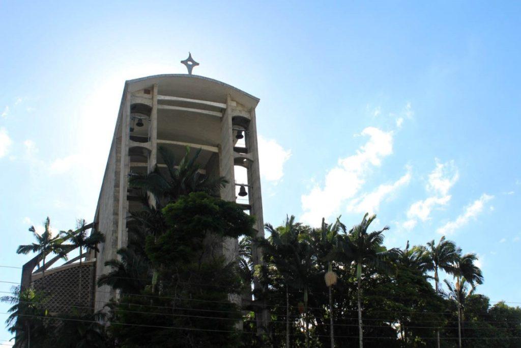 Igreja de São Luís Gonzaga, em Brusque (SC).