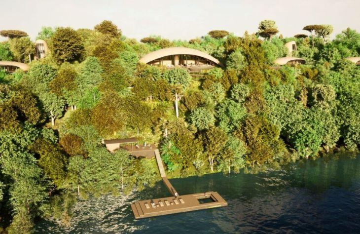 Projeto será construído às margens do Rio Negro.