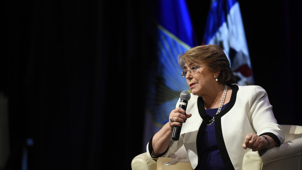 Michelet Bachelet, alta comissária da ONU para os Direitos Humanos
