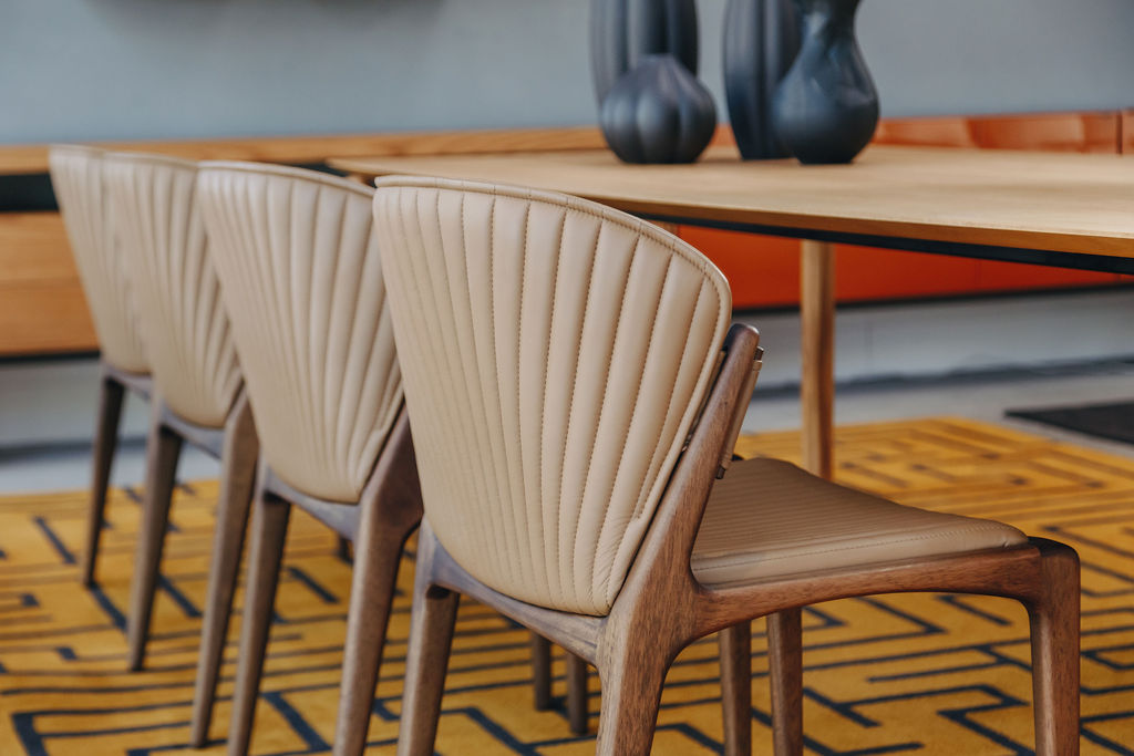 Detalhe da cadeira Luisa.