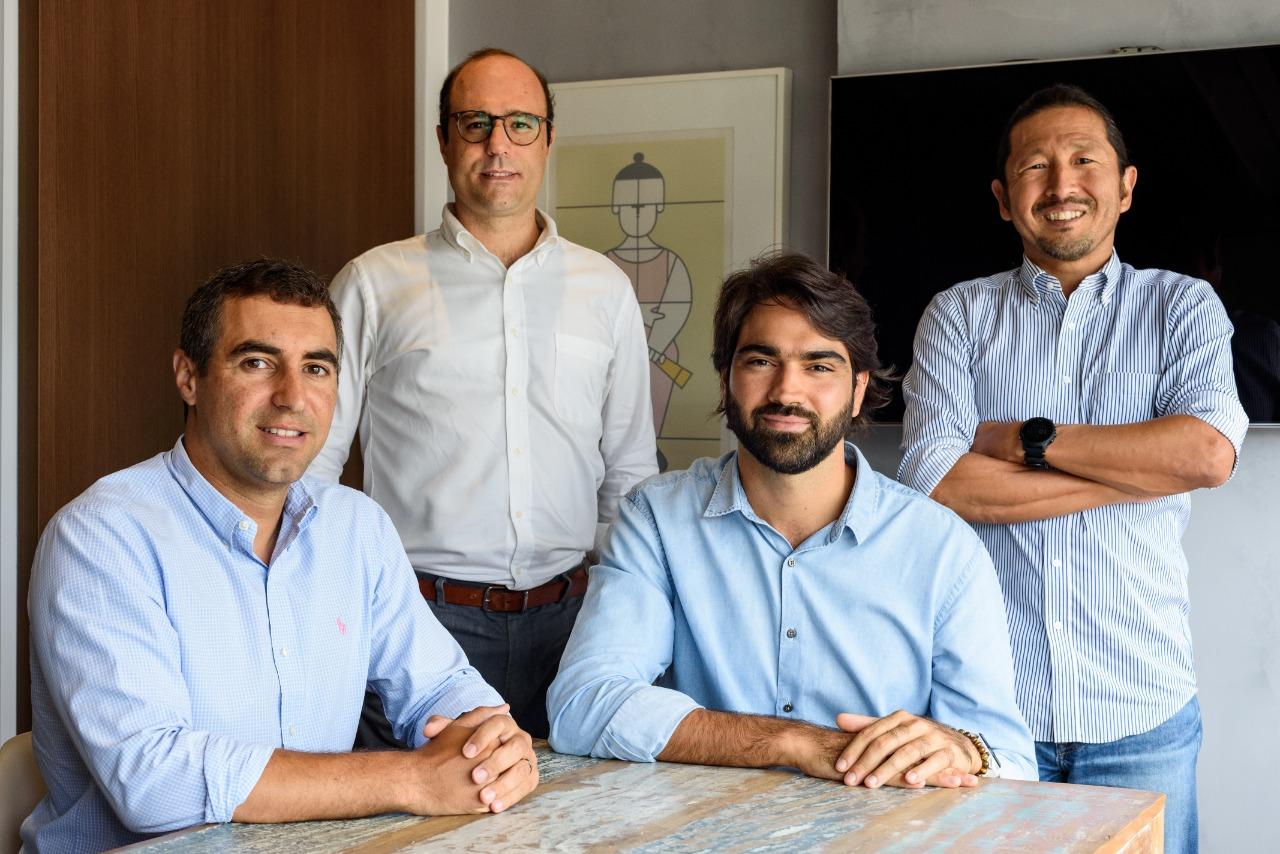Os sócios da gestora Fuse, da esquerda pra direita: Guilherme Hug, Alexis Terrin, Dan Yamamura e João Zecchin.
