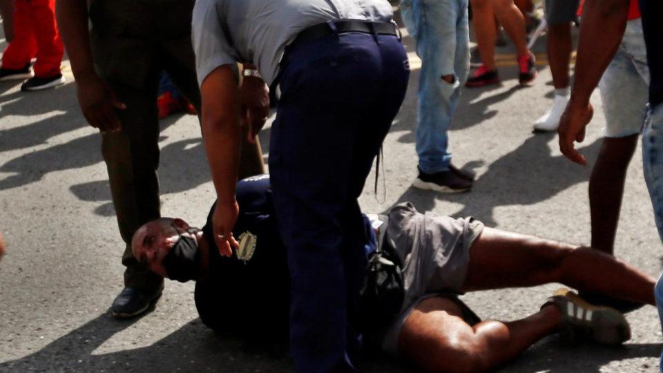 protestos cuba