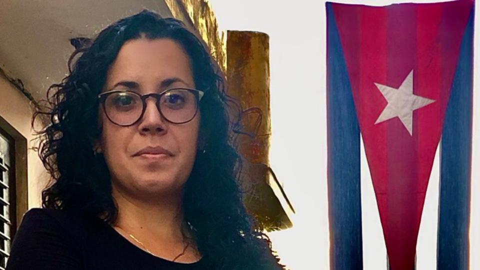 A jornalista Camila Acosta é correspondente do jornal espanhol ABC em Cuba.